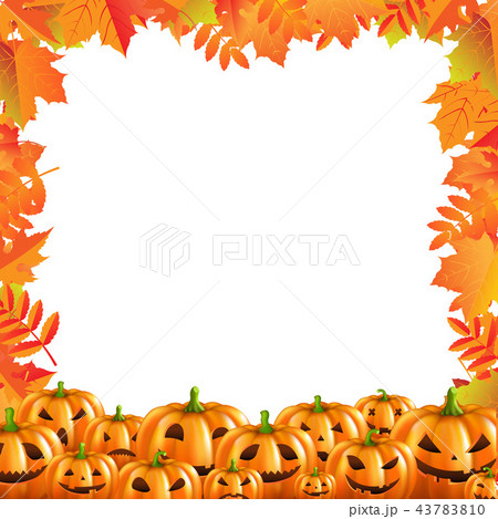 Autumn Discount Halloween Poster Isolated 43783810