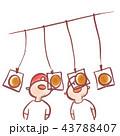 パン食い競争 43788407