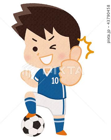サッカー選手 男性 43790458