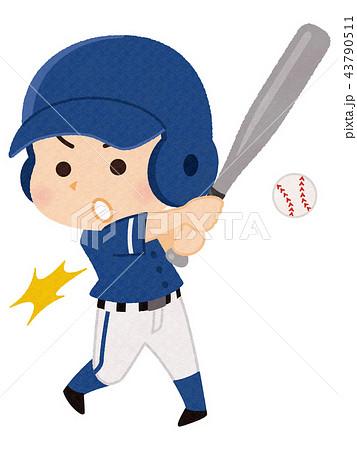野球選手 男性 43790511