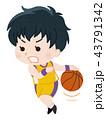 バスケットボール選手 女性 43791342