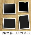 フレーム 額縁 写真のイラスト 43793800