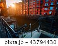 ブリック レンガ 煉瓦の写真 43794430