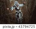 Human wolf is a werewolf. 43794725