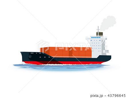 貨物船 43796645