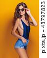 女性 ファッショナブル メスの写真 43797823