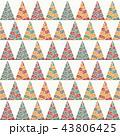 パターン 柄 模様のイラスト 43806425