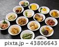 おかずいろいろ Side dishes of rice japanese food 43806643