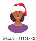 アフリカ人 アフリカ産 女性のイラスト 43808442