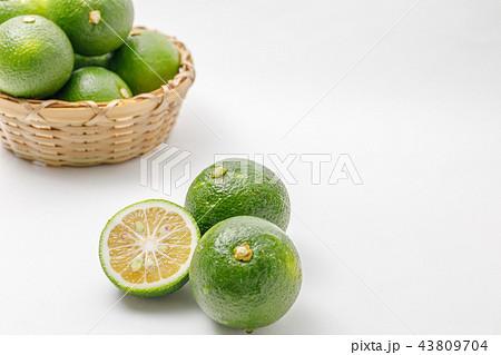 柑橘類 かぼす 産地:大分県庄内 43809704
