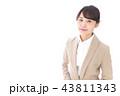 笑顔の若いビジネスウーマン 43811343