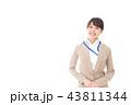 笑顔の若いビジネスウーマン 43811344