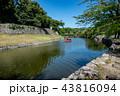 滋賀県 夏の彦根城 お堀めぐり 屋形船 43816094