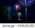 三重県 熊野大花火大会 獅子岩 比較明合成 43816190