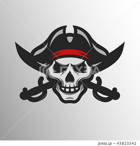 Pirate Skull and swords. 43823342
