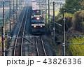 東北本線で早朝を走る貨物列車金太郎EH500 43826336