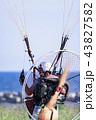 グライダー パラグライダー 空の写真 43827582