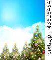 クリスマス クリスマスツリー 飾りのイラスト 43828454
