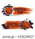 バスケ バスケットボール スポーツのイラスト 43829827