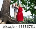 老人 カップル 二人の写真 43836751