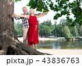 ファミリー 家族 老人の写真 43836763