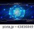 セキュリティ セキュリティー 安全のイラスト 43836849