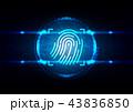 セキュリティ セキュリティー 安全のイラスト 43836850