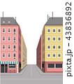 街路 ロード 建造物のイラスト 43836892