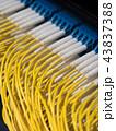 データセンター ケーブル サーバーの写真 43837388