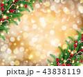 背景 バックグラウンド クリスマスのイラスト 43838119