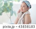 女性 美容 保湿の写真 43838183