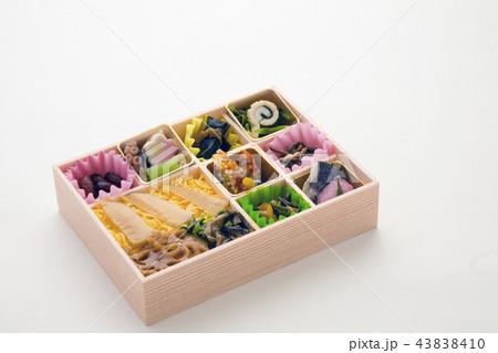 日本の弁当、彩り弁当、筍ご飯 43838410