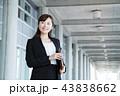 ビジネスマン 女性 ビジネスウーマンの写真 43838662