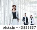 ビジネス オフィス ビジネスウーマン ビジネスマン 会議 43839857