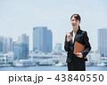ビジネスマン ビジネスウーマン 会社員の写真 43840550