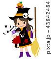 魔法少女と包帯うさぎとかぼちゃ君 43842484