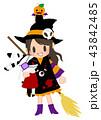 魔法少女と包帯うさぎとかぼちゃ君 43842485
