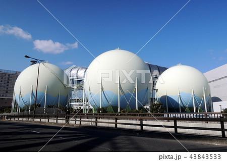 京セラドーム大阪付近のガスタンク 43843533
