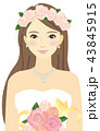 花嫁さん 43845915