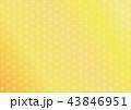 麻の葉 背景 和柄のイラスト 43846951