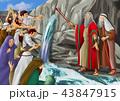 モーセとメリバの水イメージ 43847915