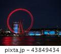 夜のロンドン・アイ 43849434