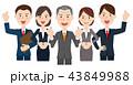 男女 ビジネスチーム 43849988