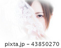 新婦 花嫁 女性の写真 43850270