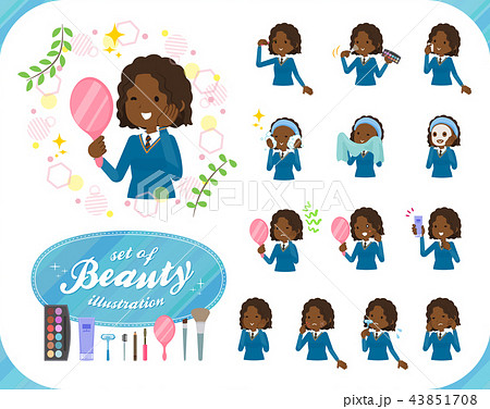 flat type School girl Black_beauty 43851708
