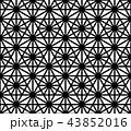 パターン 柄 模様のイラスト 43852016