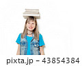 young teenage girl with books 43854384