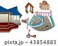幼稚園の風景 43854883