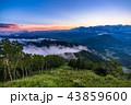 竜王マウンテンパーク 雲 夏の写真 43859600