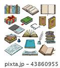 書籍 教育 文学のイラスト 43860955